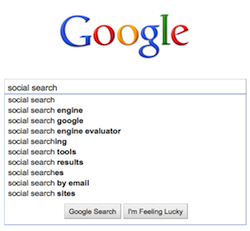 Social search success