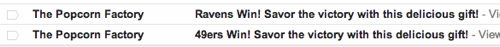 Bad email doesn't know who won the SuperBowl