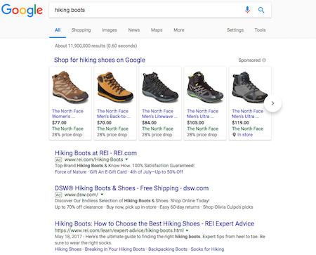OK, Google, after EU fine, is Google OK? Image of Google Shopping and Product Listing Ads
