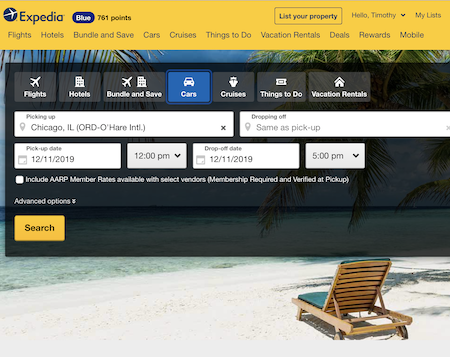 What do Expedia's recent troubles mean for your business? Screenshot of Expedia.com home page