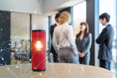 2020 Trends Voice Takes Off: Office workers using smart speaker